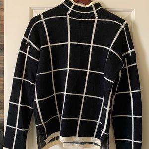 Vici Dolls Windowpane Sweater
